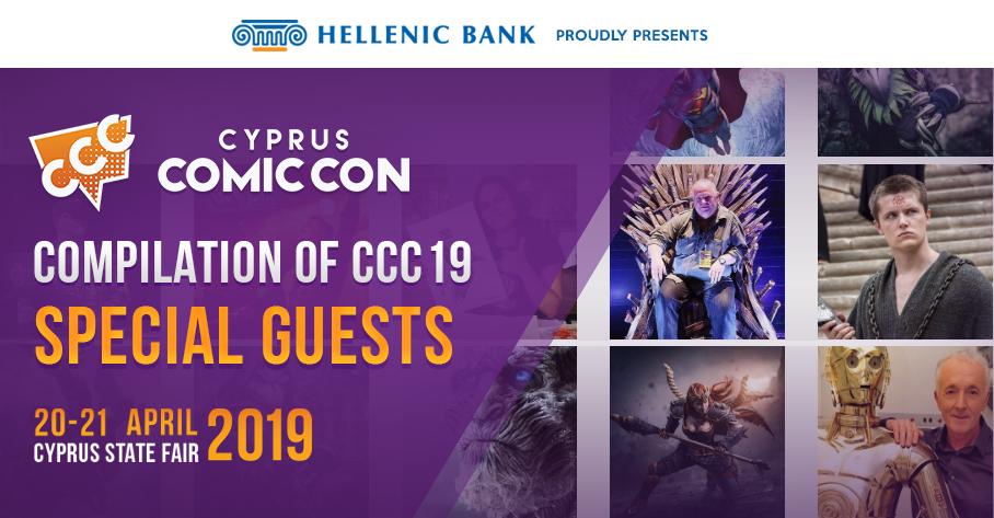 Special Guests – Cyprus Comic Con
